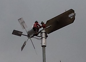 Gli omini che seguono il vento