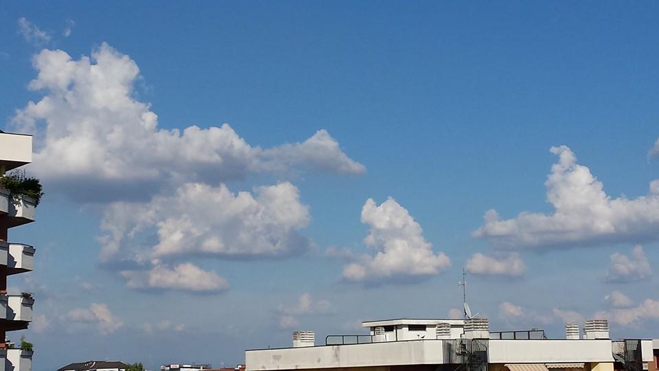 Nubi sul vassoio
