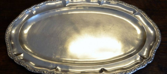 Su un piatto d'argento
