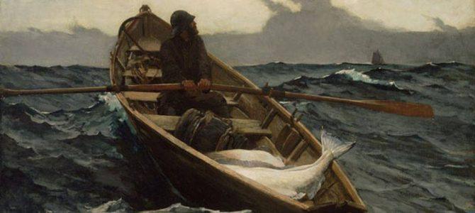 La barca toccò rapidamente la riva